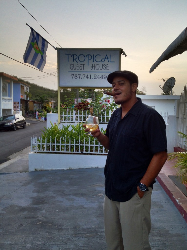 Joe, Owner of The Tropical Guest House on Vieques Island