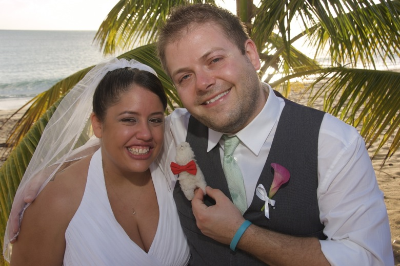 We got married in Vieques, PR!